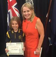 Jessie wins ANZAC Day Writing Competition!